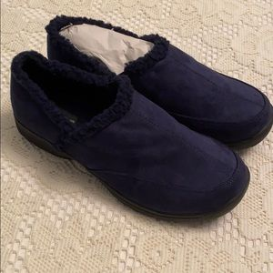 NWOT Comfort View Blue Suede Shoes